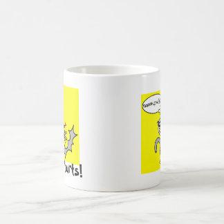 Squished Possum Mug