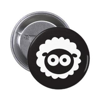 Squishy Sheep 6 Cm Round Badge