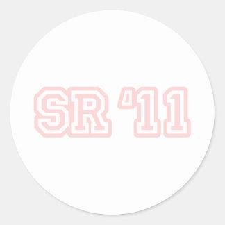 SR11 PINK STICKER