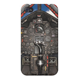 SR71 Blackbird Aircraft Cockpit Covers For iPhone 4