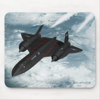 SR-71 over Siberia Mouse Mat