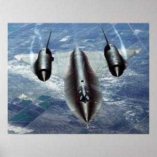 SR-71A Lockheed Poster