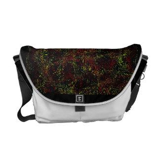 SR Dark-white bag Courier Bag