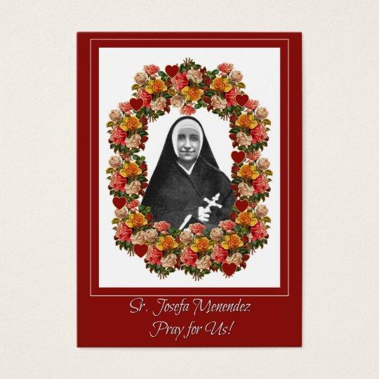 Sr. Josefa Menendez Nun Roses Prayer Novena Business