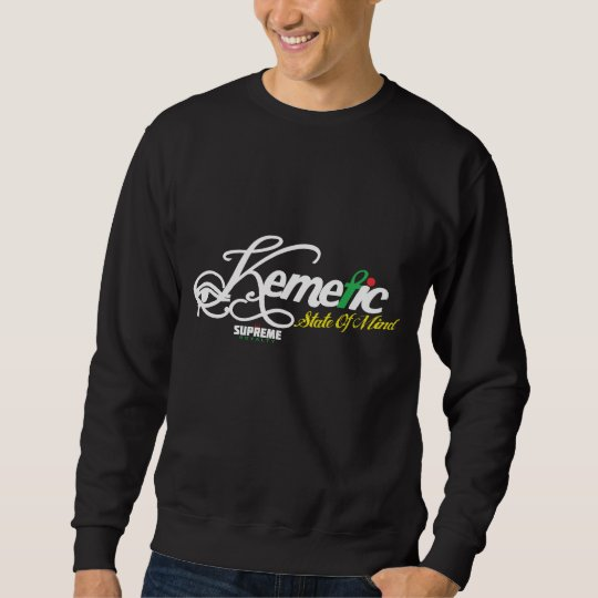 SR Kemetic State of Mind Sweatshirt (Black, W-Tri)