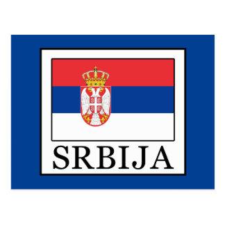 Srbija Postcard