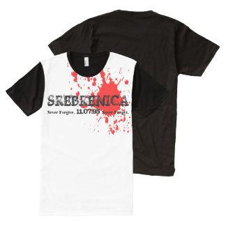 Srebrenica Shirt All-Over Print T-Shirt