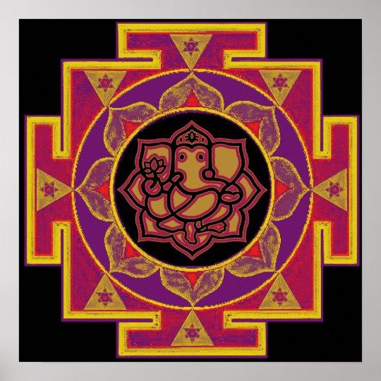 Sri Ganesh Yantra Poster