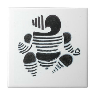 Sri Ganesha Small Square Tile
