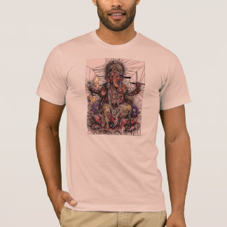 Sri Ganesha Stained Glass Style T-Shirt
