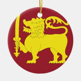 Sri Lanka Christmas Ornament