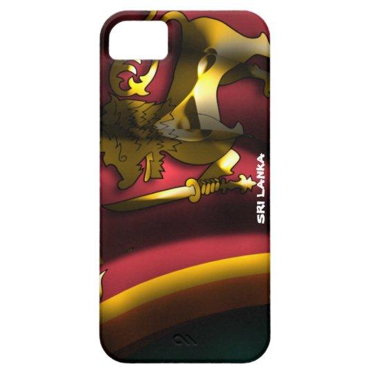 Sri Lanka Flag Iphone 5 Case-Mate Case