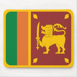 Sri Lanka Flag Mousepad