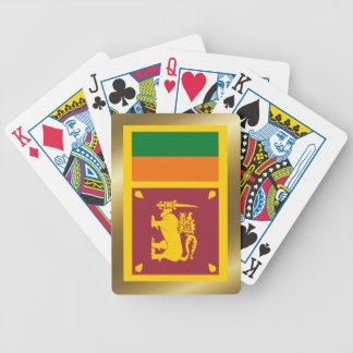 Sri Lanka Flag Playing Cards