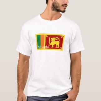 Sri Lanka flag souvenir tshirt