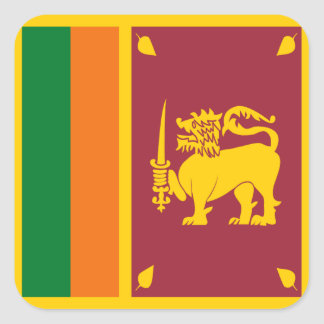 Sri Lanka Flag Sticker