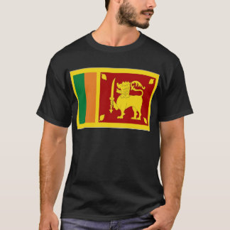 Sri Lanka Flag T-Shirt