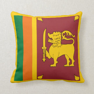 Sri Lanka Flag x Flag Pillow
