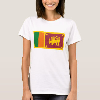 Sri Lanka Flag x Map T-Shirt