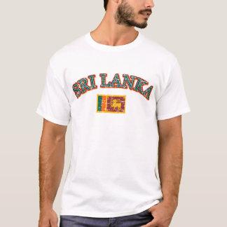 Sri Lanka football design T-Shirt