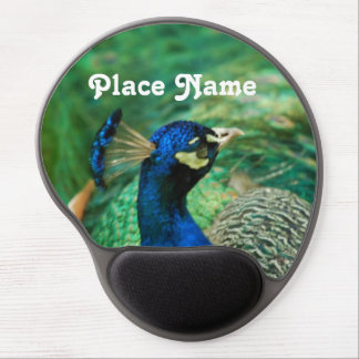 Sri Lanka Peafowl Gel Mousepad