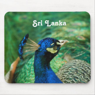 Sri Lanka Peafowl Mousepads
