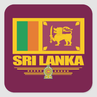 Sri Lanka Pride Square Sticker