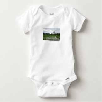 Sri Lanka rice fields Baby Onesie