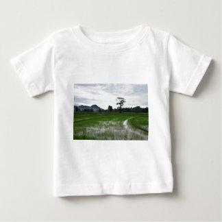 Sri Lanka rice fields Baby T-Shirt