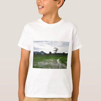 Sri Lanka rice fields T-Shirt