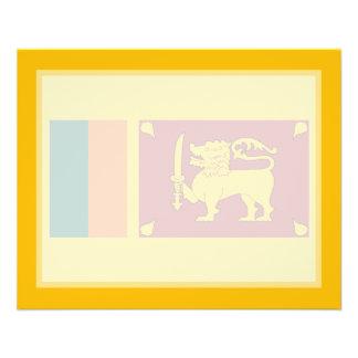 Sri Lanka – Sri Lankan Flag Flyer Design