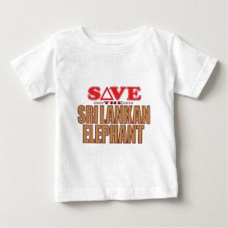 Sri Lankan Elephant Save Baby T-Shirt