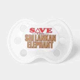 Sri Lankan Elephant Save Dummy