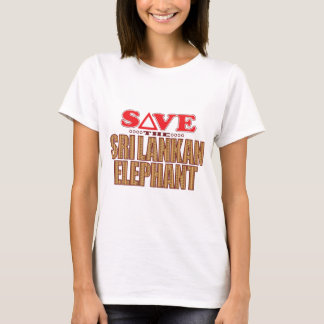Sri Lankan Elephant Save T-Shirt
