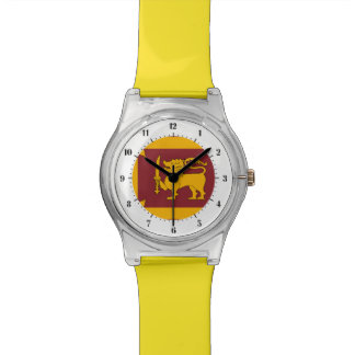 Sri Lankan flag Watch