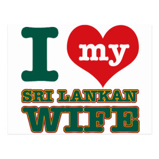 Sri Lankan wife designs Postcard