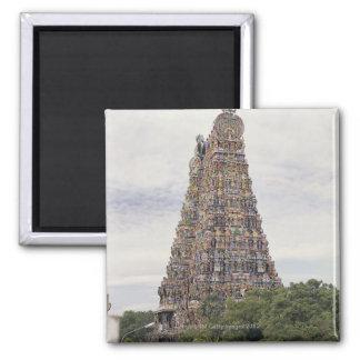 Sri Meenakshi Amman Temple, Madurai, Tamil Nadu, Square Magnet
