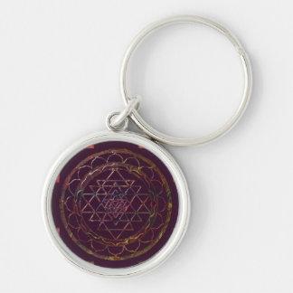 Sri Yantra4 Keychain