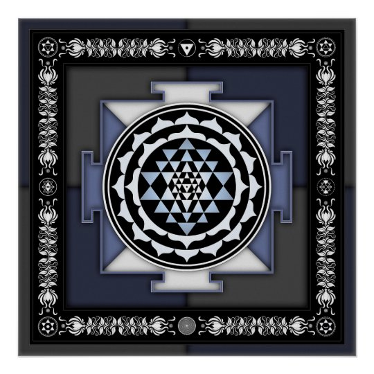 Sri Yantra - Artwork II Poster