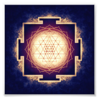 Sri Yantra - Artwork IX Photo Print