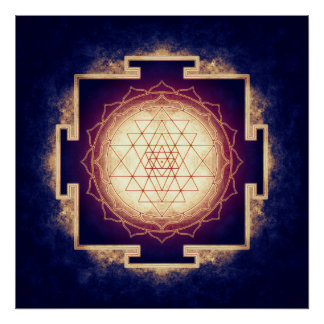 Sri Yantra - Artwork IX Poster