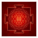 Sri Yantra - Artwork X Poster
