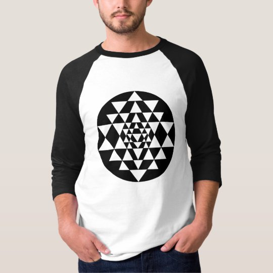 Sri-Yantra-Best-black front T-Shirt
