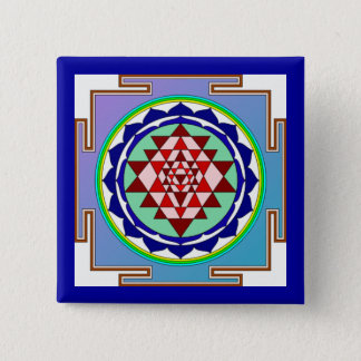 Sri Yantra Button