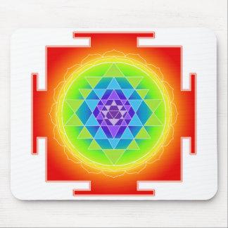 Sri Yantra/Chakra/Rainbow Mouse Pad