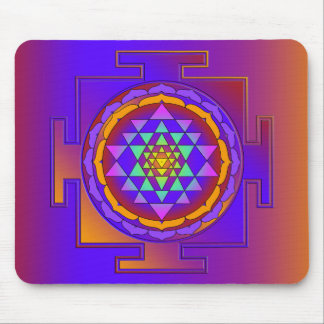 SRI YANTRA full colored + your ideas Mouse Mat
