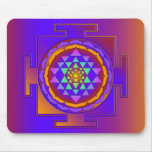 SRI YANTRA full coloured + your ideas Mouse Pad