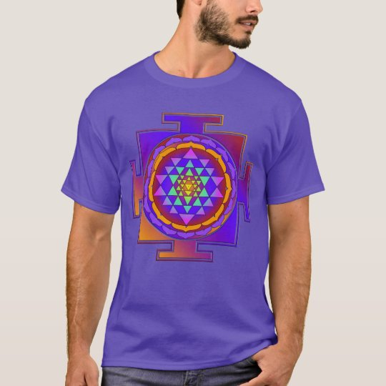 SRI YANTRA full coloured + your ideas T-Shirt