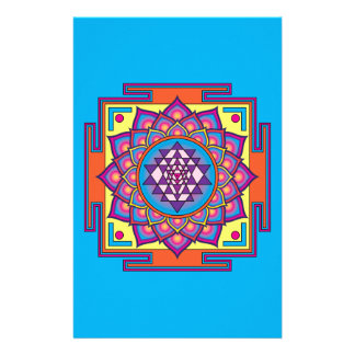 Sri Yantra Mandala Stationery