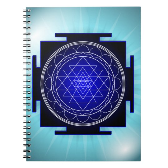sri yantra notebook